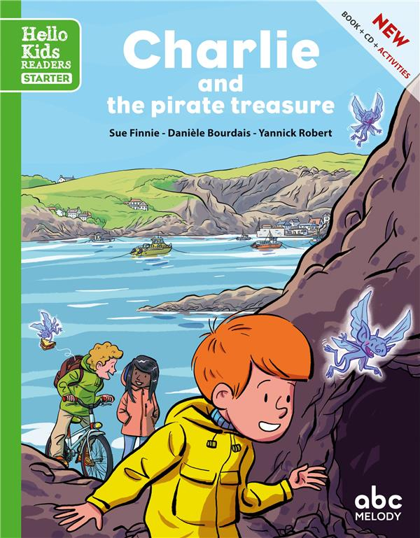 CHARLIE AND THE PIRATE TREASURE (OLL. HELLO KIDS READERS)